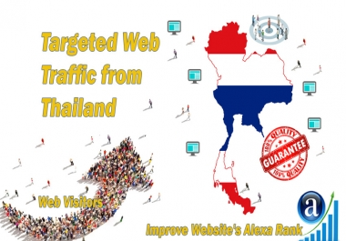 Send 15.000 web visitors from Thailand in 30 days