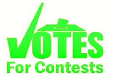 Give You 150+ Geniune Online voting contest votes within 1-2 hours