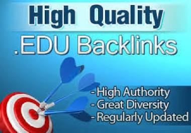 I will provide manually 20 profile + 20 EDU/GOV Safe SEO High Pr Backlinks 2018 Best Results 'only'