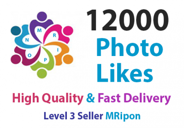 Get Instant 12000 High Quality Social Photo Post Likes