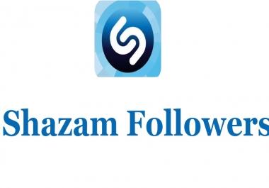 Buy 100+ High Quality None Drop USA Shazam Followers