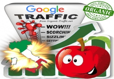 Italian Search Traffic from Google.it for 30 days