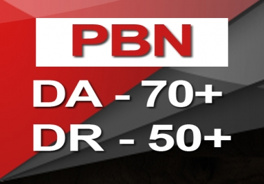 Do 5 PBN DA 50+ Homepage Backlinks