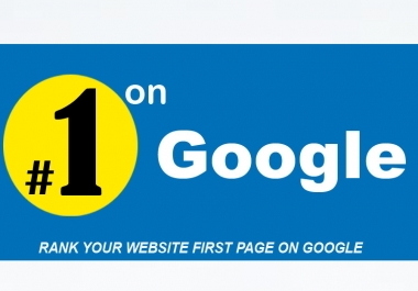 GUARANTEED Google FIRST Page Ranking, Monthly SEO Link-building Service