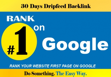 Google FIRST Page Ranking, Monthly SEO Link-building Service