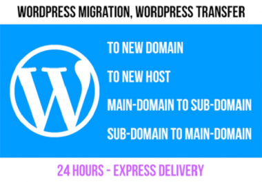 Migrate Your Wordpress Site To New Host Or Server