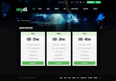 Content Download Portal