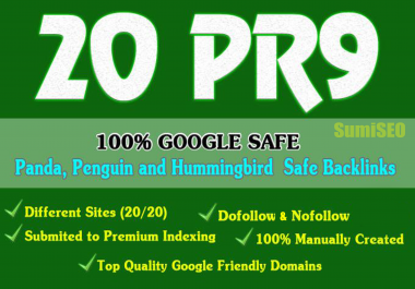 20 Pr9 SEO High Authority Backlinks, Skyrocket Your Ranking