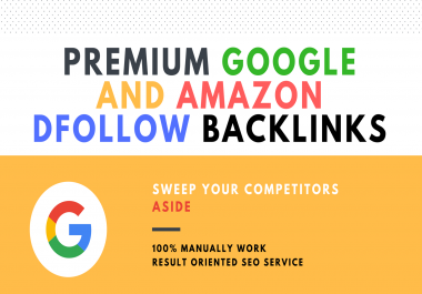 PREMIUM MOZ 100 DA/PA GOOGLE.COM AND AMAZON.COM DOFOLLOW BACKLINK