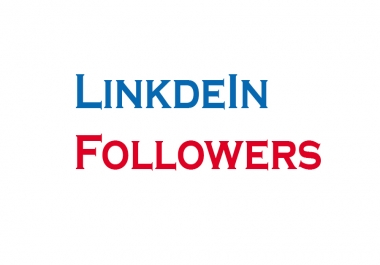 Buy 200+ High Quality & None Drop LinkedIn Followers For You LinkedIn Account