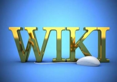 2000 wiki backlinks (mix profiles & articles) get website seo with google top page