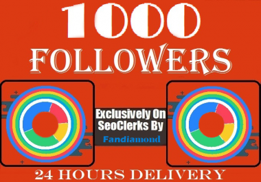 Get instant 1000 Followers To Your Social Profile/Page