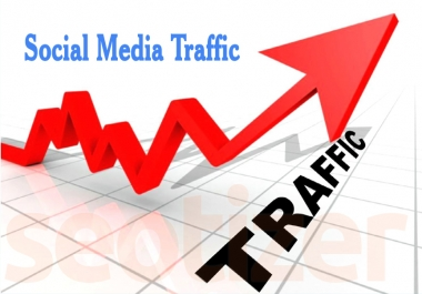 Unlimited Social Media Targeted Traffic VISITOR for 30 Days