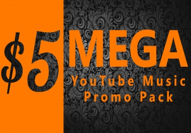 Mega YouTube Music Promo Pack