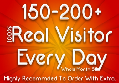 Bring Real Visitors, Targeted Web Traffic for 30 days
