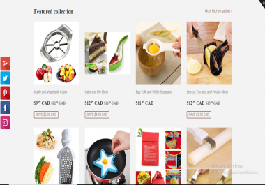 will add 20 winning products in your shopify store from aliexpress