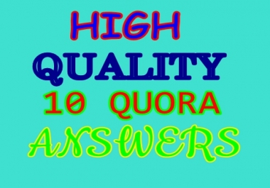 Increase your website traffic with 10 quora answers
