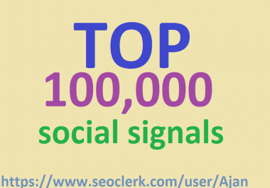 TOP 100,000 pinterest Social Signals to Improve SEO and Boost Ranking.