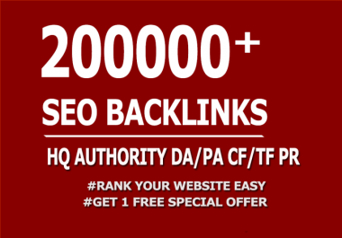 Do 200000 GSA, Dofollow, Backlinks For SEO
