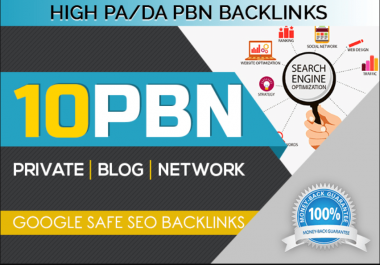 build 10 Dofollow Pbn HIgh Metrics