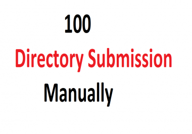 Manually 100 Directory Submission Back-links For Your Website
