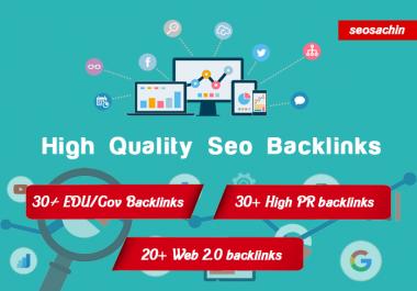 80+ EDU/Gov, High Pr and Web 2.0 backlinks