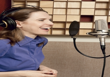 ****^^^^ I Will Record A Quality Voiceover In A British Or American Female Accent @@##**^^