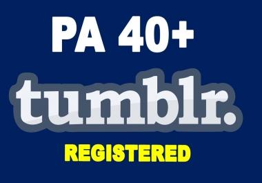 Register 3 Expired Tumblr PA 40+