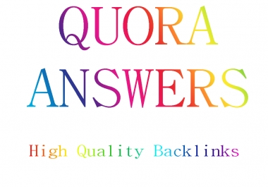 Promote Your Website With HQ Unique Quora Answers