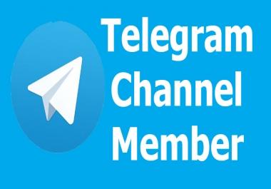 Add Real Human 200+ Telegram Members