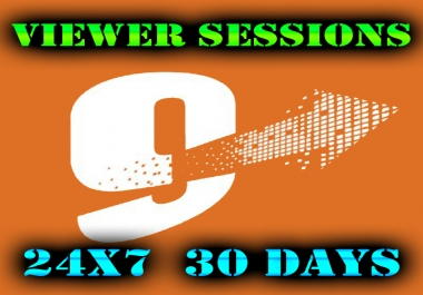 9Hits FIVE Viewer Sessions 24x7 30Days