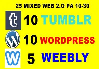 25 Expired Weebly Wordpress Tumblr Pa 10 Plus