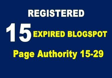 Register 20 Expired Blogspot Pa 15 Plus