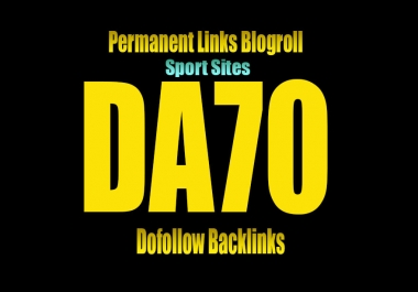 Give link DA70 SPORT Site blogroll or guestpost permanent