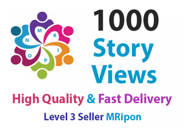 Start Instant 1000 High Quality Story Views