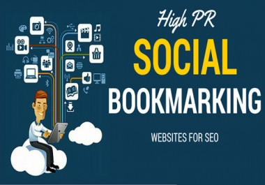 Manually Create 25 Live High PR TOP QUALITY Social Bookmarking Backlinks