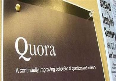 offer I Will Create 20  Real High Quality Quora  Back links Package