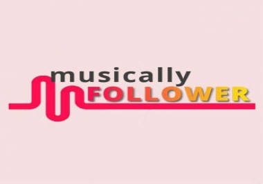 will DO COMPLETE 500 MUSICAL.LY follower  PROMOTION