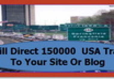 offer Website Traffic I  Will Direct 150000  USA Traffic To Your Website