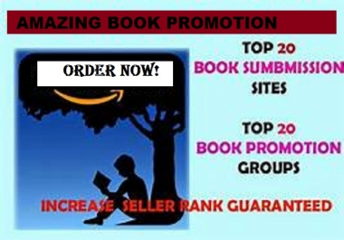 Submit Your Book to Top Book Promotion Sites