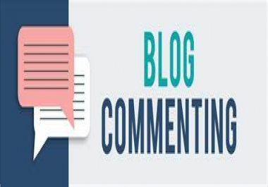 OFFER i will provide 40 high quality Blog Comment