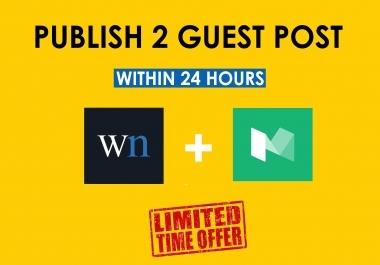 Publish your Guest post in medium.com /wn.com