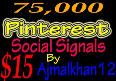75,000+ SEO Friendly Powerful Social Signals From Top Social Media Important For SEO Ranking