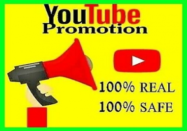 Targeted Country Organic YouTube Video Promotion Marketing