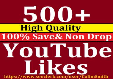 Instant 400-500 High Quality Utube Lik ess Super Fast Speed