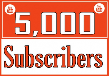Safe 5000+Youtube Channel Promote Subs cribers Super fast