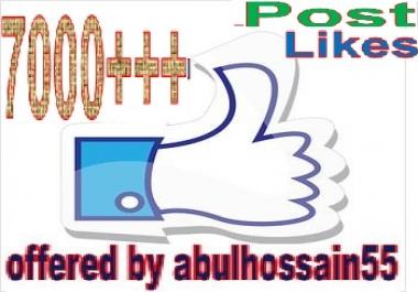 arrange 7000 Po.st or Vid.eo Visitors Increasing offer for social media links