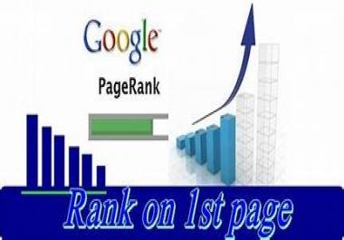 Guaranteed Service Google 1st page ranking