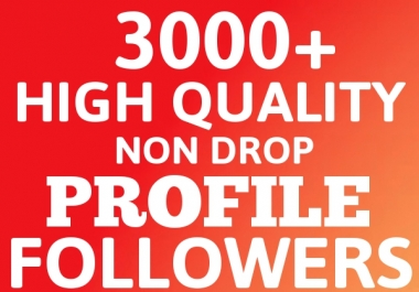 Will Add 3000+ HQ Followers Permanent and Grow Your SEO Ranking