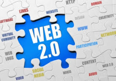 I will provide you 10 HQ Web 2.0 Backlinks